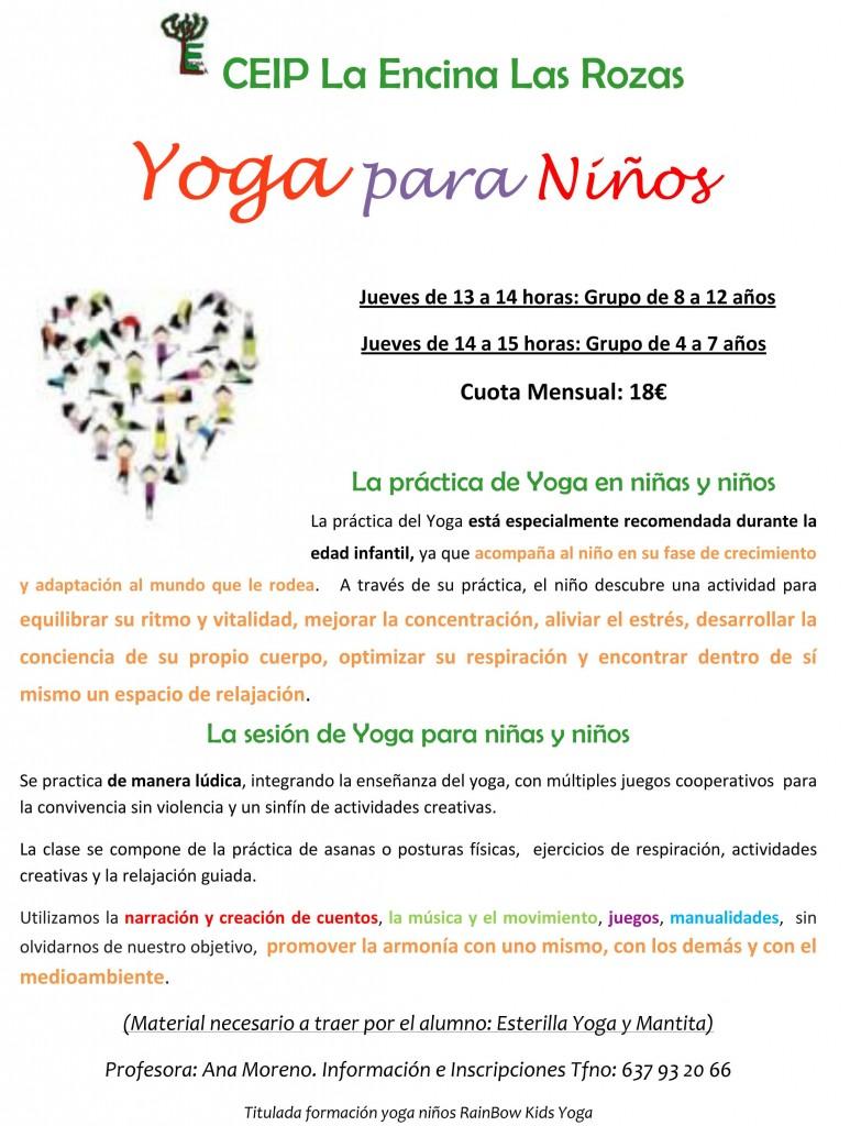 Cartel_Yoga_Niños_Colegio_La_Encina